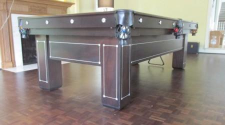 Fully restored Monroe antique billiards table
