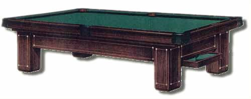 Old catalogue image of The Monroe, antique pool table