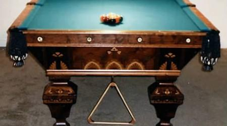 Restored New Acme billiards table