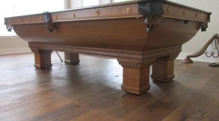 "Antique ""Newport"" pool table, fully restored"