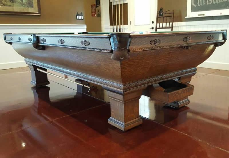 The Newport Antique Billiards Table For Sale