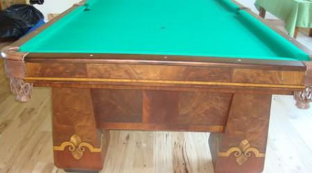 The Paragon (restored antique pool table)