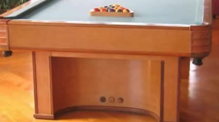 The Paramout, fully restored antique billiards table