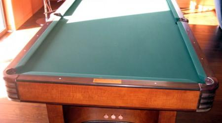 Restored antique billiards classic, The Paramount