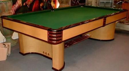 The Paramount, antique billiards table restored