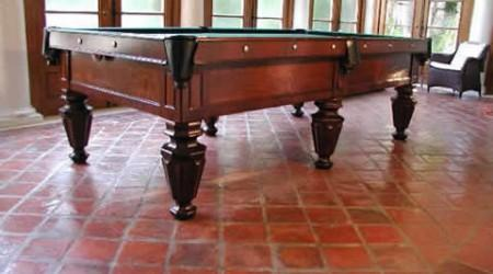 Restored Brunswick antique biliards table, The Phelan & Collender