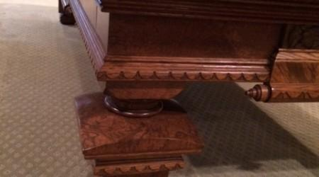 Antique restoration by Billiard Restoration Service: Pride of Cleveland billiards table