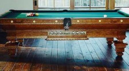 Antique pool table, Pride of Cleveland - fully restored