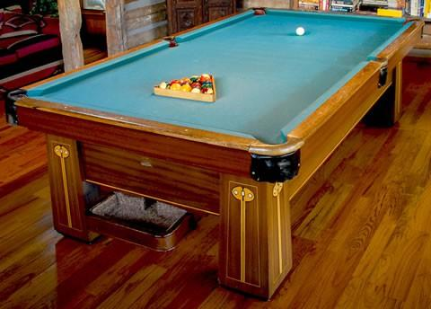 ... The Regina U2013 Professionally Restored Antique Brunswick Billiards Table  By Billiard Restoration ...