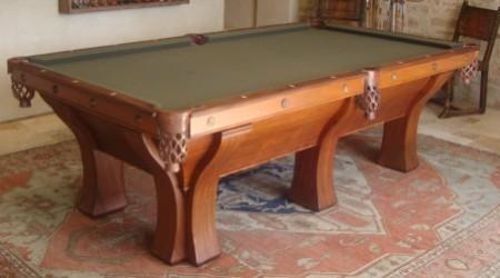Billiards table, The Rochester, fully restored