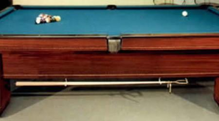 Actual restored antique pool table - The Royal
