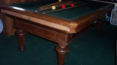 Schleiffer antique billiards table