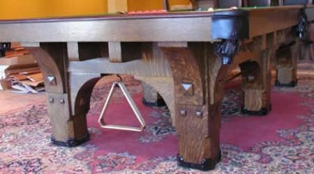 Antique St Bernard Mission table
