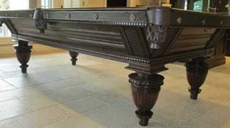 Pool table restoration: Improved Union League