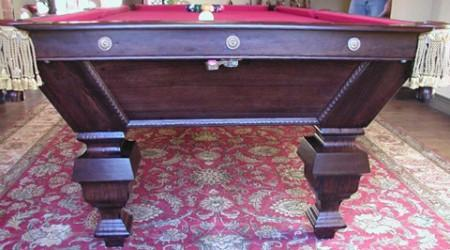 The Universal antique billiard table