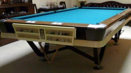 Commercial pool table, The Viscount