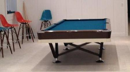 Restored Viscount pool table by Billiards Restoration