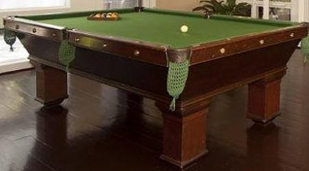 Antique Wellington pool table