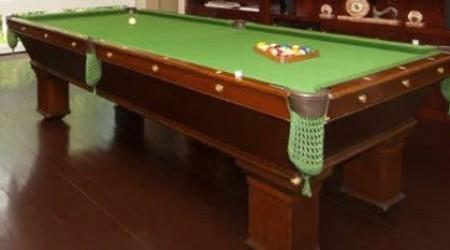 Restored antique pool table The Wellington