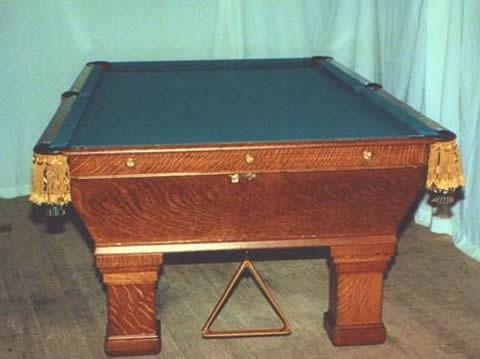 actual restored wellington billiards table - Pool Tables For Sale Near Me