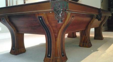 Fully restored antique billiards table, The Westminster