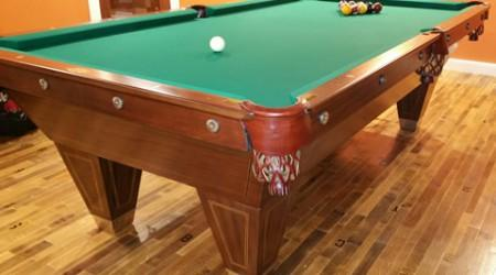 Fully restored YMCA Special billiards table