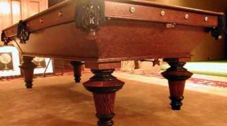 The York, antique billiards table