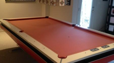 The Mitchum, antique pool table by Billiard Restoration Service