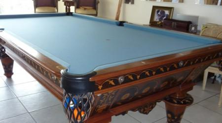 Antique W.H. Griffith Flower pool table