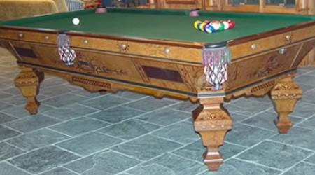 The Brilliant Novelty Pool Table By