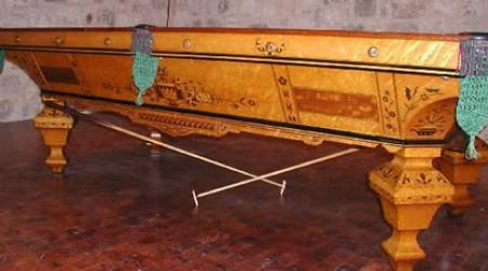 Brilliant Novelty antique pool table fully restored