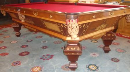 Antique pool table, The Brilliant Novelty
