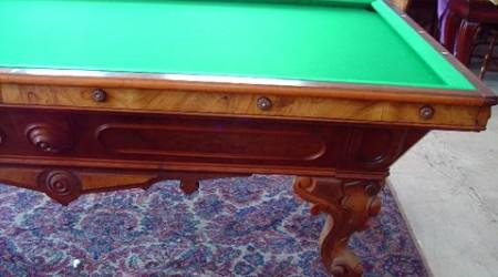 The California Standard, a restored billiard table by Billiard Restoration Service