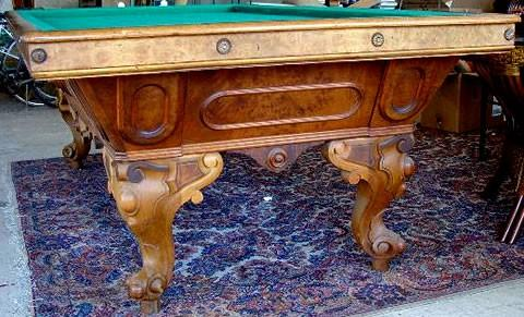 ... The California Standard, A Antique Pool Table