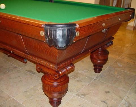 The Cambridge Original Brunswick Restored Pool Tables