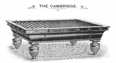 Brunswick Catalogue Image of The Cambridge
