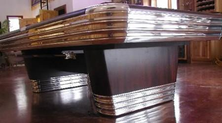 The Centennial, a fully restored billiards table