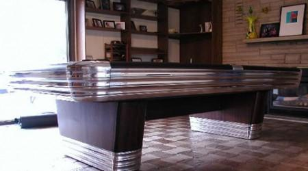 The Centennial, a fully restored antique pool table by Billiard Restoration Service