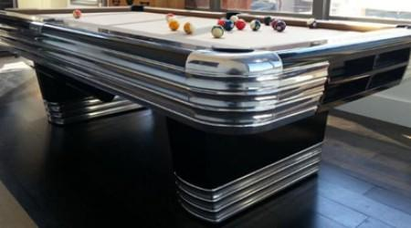 The Centennial, a fully restored antique billiard table