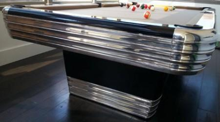 The Centennial, a fully restored antique billiard table by Billiard Restoration