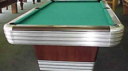Restored Centennial - antique pool table restored