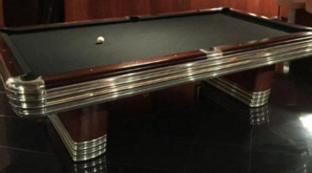 Fully restored Centennial billiards table