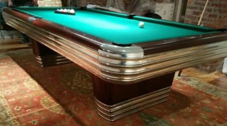 Antique pool table, The Centennial
