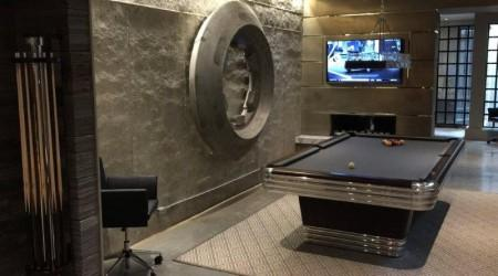 Restored Centennial pool table