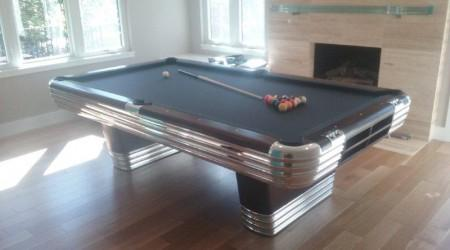Antique pool table restoration: The Centennial