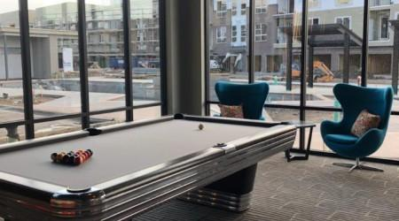Professionally restored Centennial billiards table