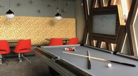 Centennial pool table (restored)