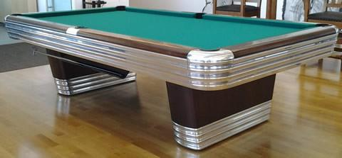 Antique BrunswickBalkeCollenders The Centennial Billiard Table - Brunswick centennial pool table