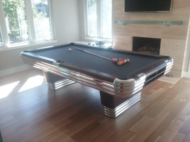 Antique BrunswickBalkeCollenders The Centennial Billiard Table - Ballard pool table