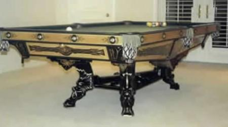 Champion, restored antique billiards table for sale
